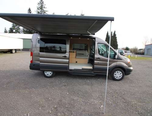 SOLD- 2018 F250 Ford Transit Long Wheel Base Mid Roof Conversion Van – SOLD