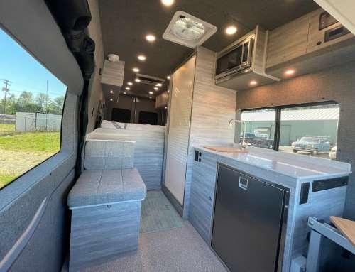 The High Sierra – Ford Transit Extended Long Body Van