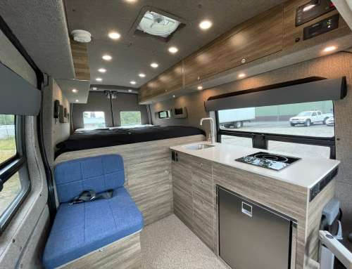Cascade Express – Ford Transit Long Body Van